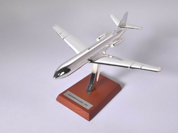 Atlas HB04 1/200 Scale Silver Aeroplane 1/200 Sud - Aviation Caravelle - 1955 - 253053819841